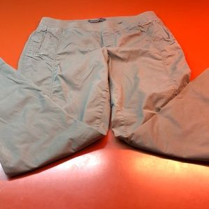 Eddie Bauer hiking pants, size 16